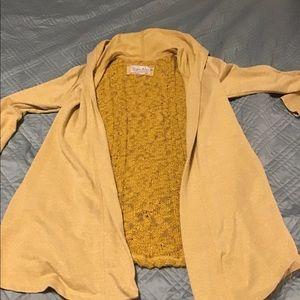 Evy's Tree Jackets & Coats - SOLD   Evy's Tree Yellow Cardigan